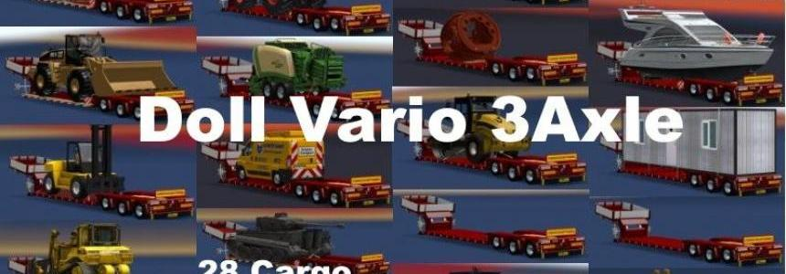 Doll Vario 3Achs with new backlight and in traffic v6.5.1