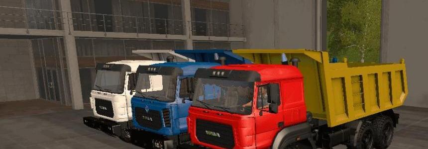Dump truck URAL M v1.0