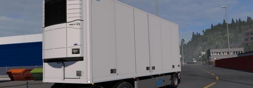 Ekeri Tandem trailers ADDON by Kast v1.1 1.31.x