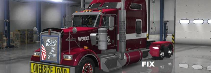 Fix for Truck Kenworth W900L from Big Bob for 1.31
