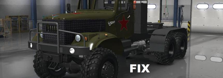 Fix for truck Kraz 255 v1.0