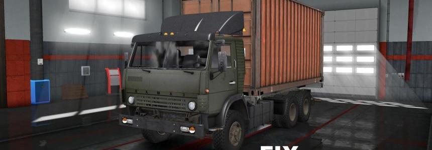 Fixed for truck KAMAZ 5320 (from Nikola) v1.0