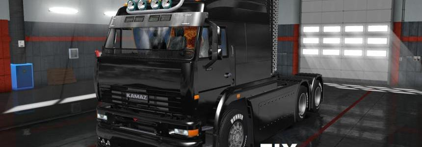 Fixed for truck Kamaz 6460 Turbo Diesel v1.0