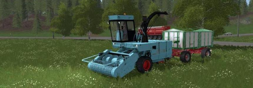 Fortschritt E-281 with 3 cutting units v1.2