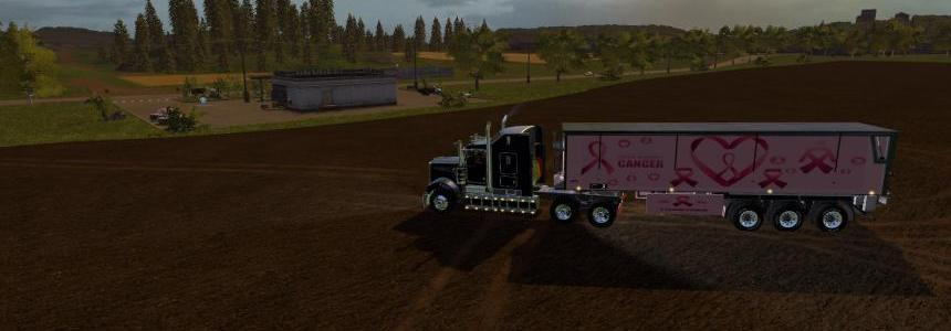 FS17 Fight Cancer Trailer Bulk v1.0