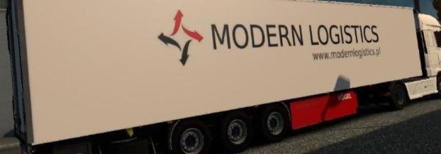 Kogel Trailer Modern Logistics v1.0