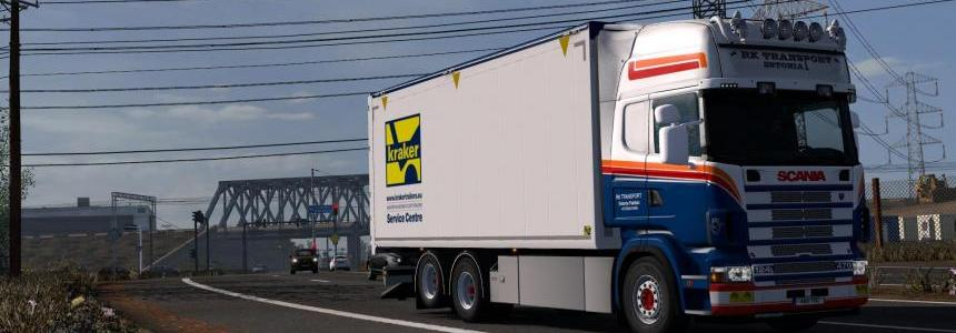 Kraker/NTM/Ekeri Tandem Addon for RJL Scania RS & r4 v1.7
