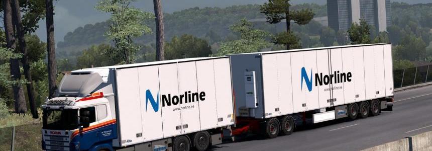 Kraker/NTM/Ekeri Tandem addon for RJL Scania rs&r4 v1.6