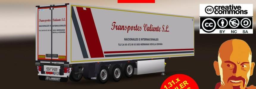 LAMBERET FUTURA SR2 SPANISH AGENCIES TRAILER 1.31.x