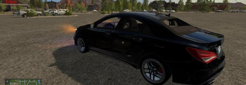Mercedes CLA 45 AMG Black Edition v2.0