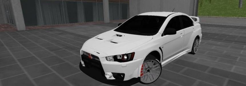 Mitsubishi Lancer Evolution X v1.1