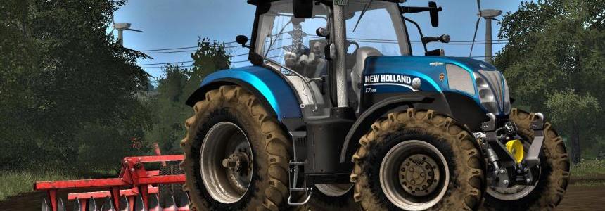 New Holland T7 Collexx Edit