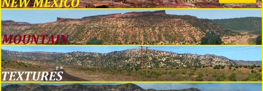 New Mexico Mountain Textures v1.0