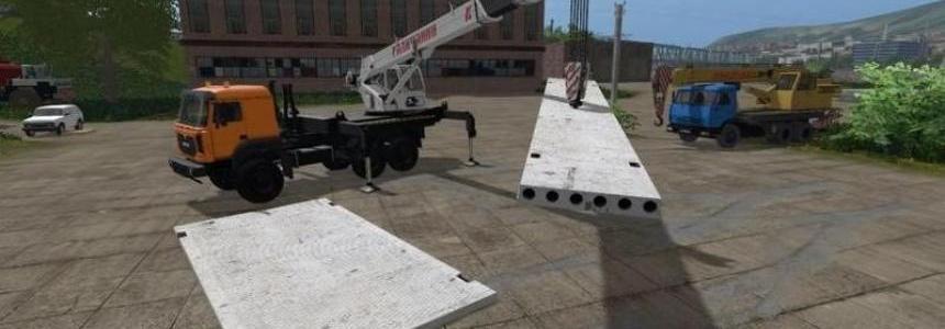 Pack of concrete slabs v1.0b
