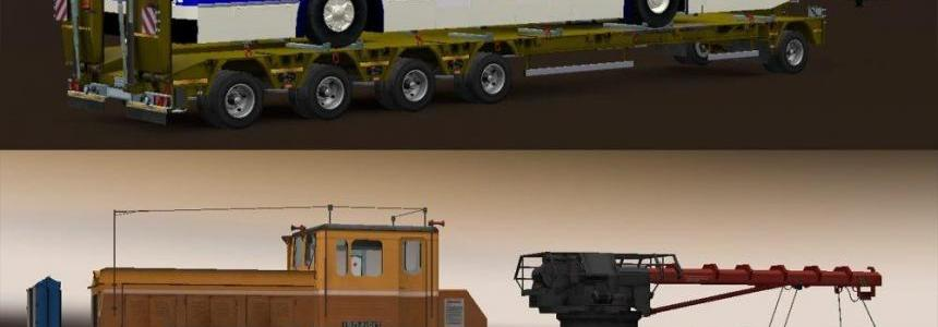 Pack Trailers: Heavy cargo for the map Russian expanses v1.0