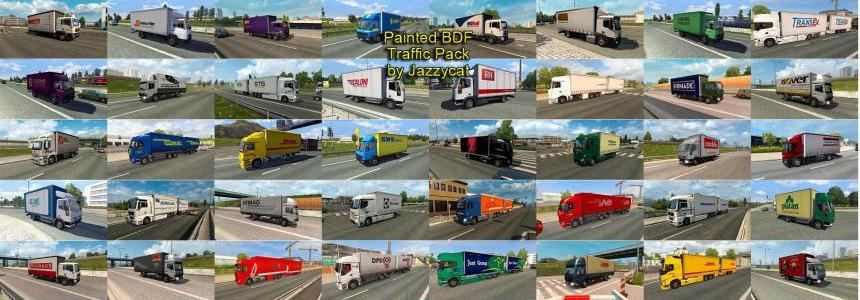 Painted BDF Traffic Pack by Jazzycat v3.0