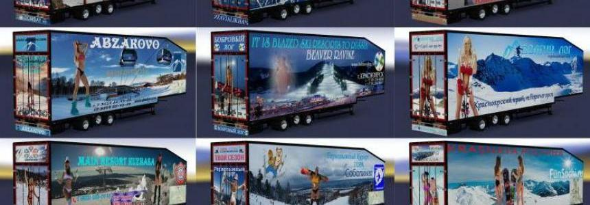 Pack trailers Ski resorts of Russia v1.0