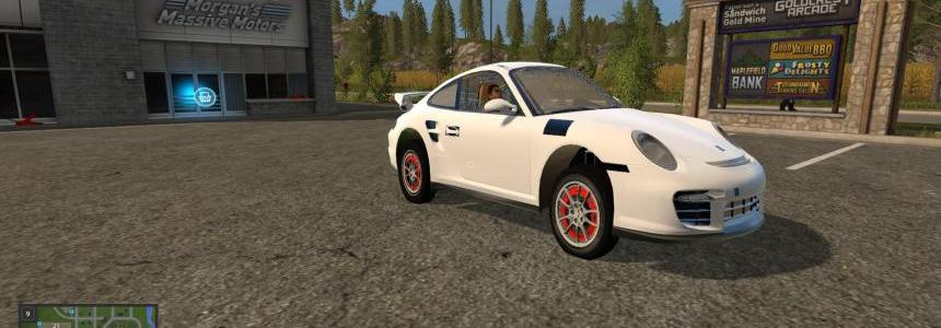 Porshe 911 GT2 White v1.0