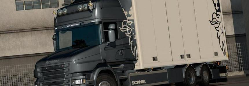 Rigid chassis for RJL Scania T & T4 (Kraker / NTM / Ekeri) v3.0.1