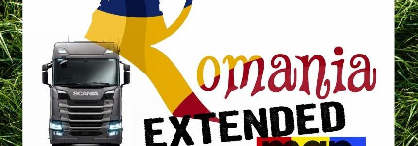 Romania Extended Map v 1.5