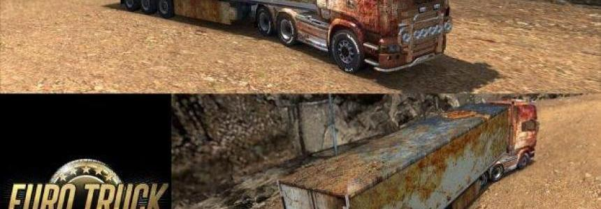 Rusted Junk Trailer and Skin Combo Pack v1.0