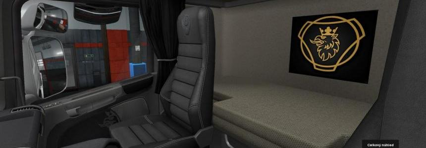 Scania Gold Emblem v1.0