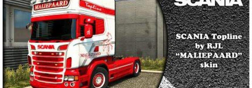 SCANIA MALIEPAARD Kit for RJL 1.30