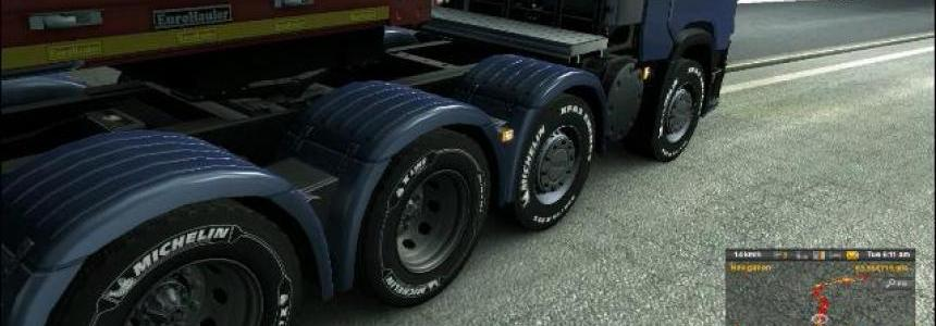 Scania R and S 8x4 chassis SCS Soft Updated v1.0