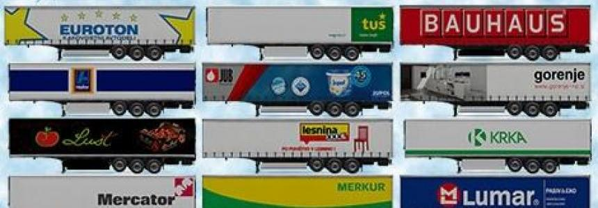 Slovenian Commercial Trailers v1.0