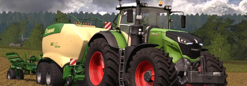 The new generation Fendt 10xx Vario series v1.0 Pre-Release