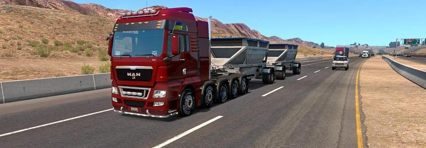 Truck MAN TGX in ATS v1.31.1