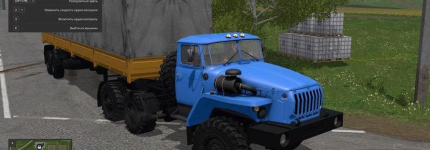 Ural 4320 and NEFAZ 9334-20-16 v1.1 by SSha