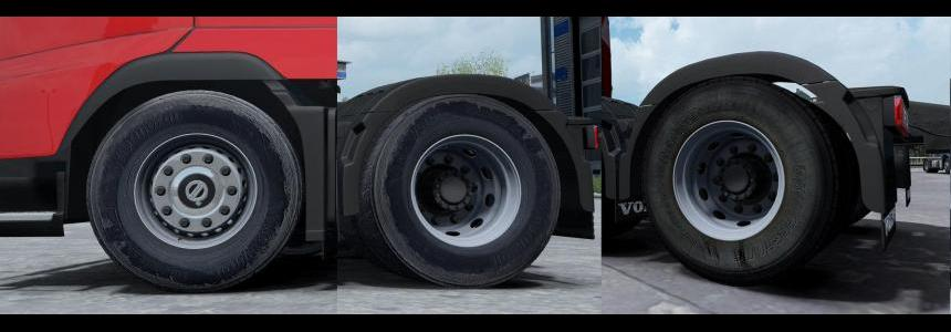 Wheels 50k Dirt Rework v1.0 1.27.x - 1.31.x