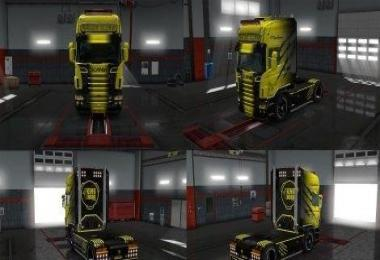 Combo Pack BlackClaw for Scania RS RJL v5.7