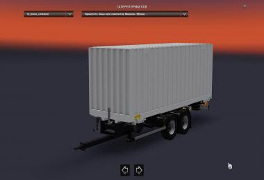 2 BDF (tandem) trailer Schmitz and Krone v1.0