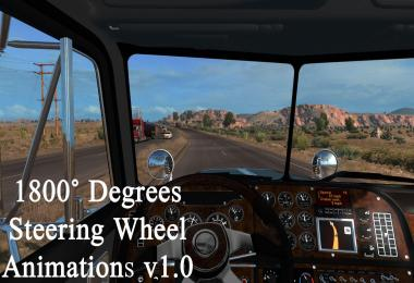 1800 Degrees Steering Wheel Animations v1.0