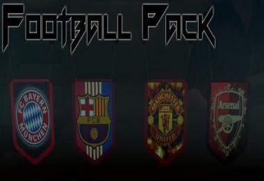 FOOTBALL PENNANTS PACK v1.0