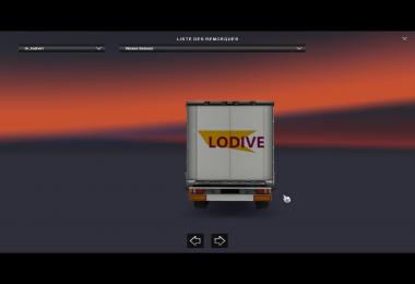 Trailer Lodive For ETS2 1.28
