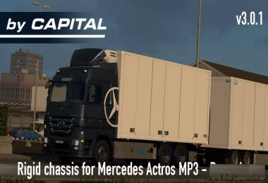 Rigid Chassis for Mercedes Actros MP3 Reworks – ByCapital v3.0.1