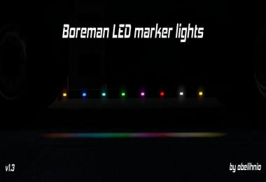 Boreman LED Marker Lights v1.3 (updated) 1.31.x