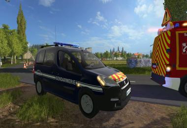 Berlingo Gendarmerie v1.0