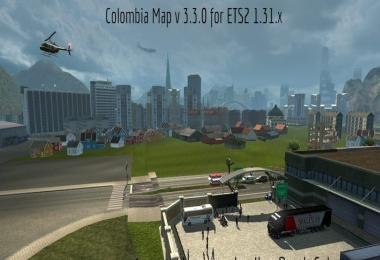 Colombia Map v3.3.0 1.31.x
