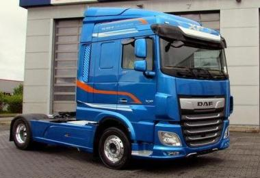 DAF XF Open Pipe Sound v9.0 updated 1.31.x