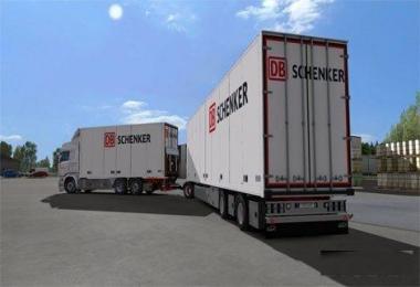 DB Schenker Ekeri Scania RJL Skin v1.0
