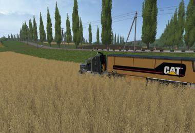 FS17 Cat Trailer Bulk E1 v1.0