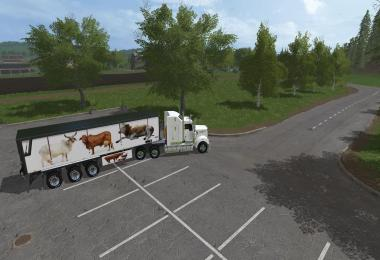 FS17 KENWORTH T908 & Trailer v1.0