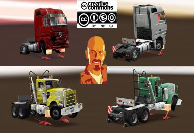 LOADS PACK FOR CRANE TRUCKS v2.0 ETS2 1.31.x