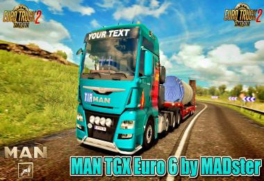 MAN TGX Euro 6 v2.1 by MADster