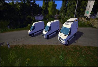 MB Sprinter 311 - 318 Workshop Van v1.0