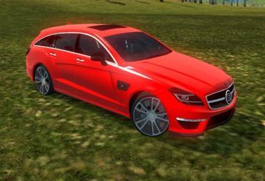 Mercedes Benz CLS B63 1.31
